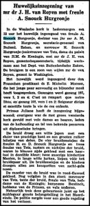 Snouck-hurgronje-vaderland1934